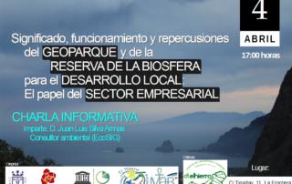 Jornadas informativas sobre Geoparque y Reserva de la Biosfera